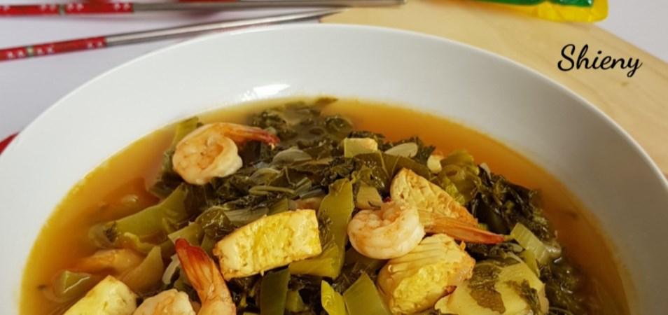 Resep Hidangan Utama - Tumis Sayur Asin Tofu Udang - Palmia I Margarin Serbaguna I Temukan Resep ...