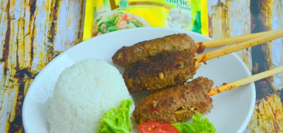Resep Hidangan Utama - Sate Lilit Daging Sapi - Palmia I ...
