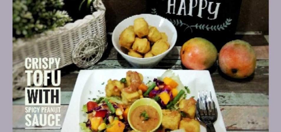 Salad Mangga Tahu Krispi