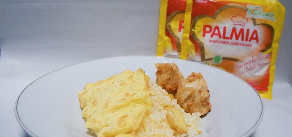 Nasi goreng mentega selimut telur