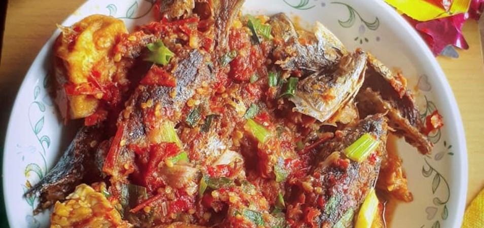 Ikan Benggol Sambal Merah
