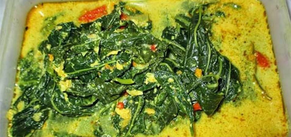 Resep Hidangan Utama Gulai Daun Singkong Palmia I Margarin Serbaguna I Temukan Resep Masakan Cemilan