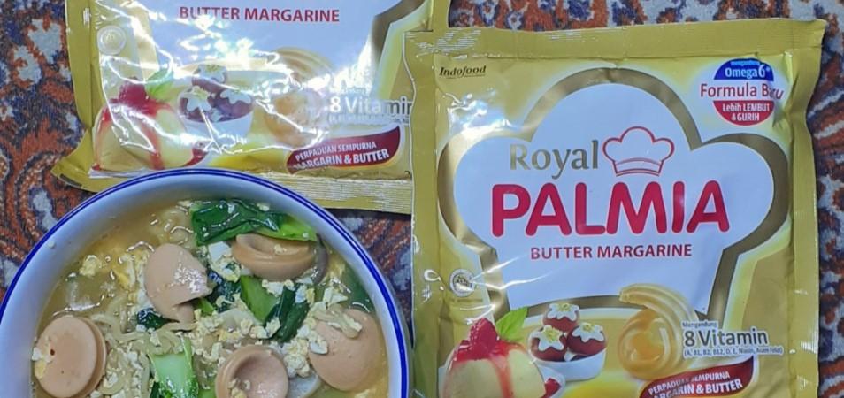 Mie kuah Royal Palmia butter