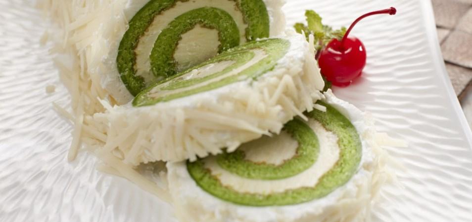 Resep Camilan Pandan Cheese Cake Roll Palmia I Margarin Serbaguna I Temukan Resep Masakan Cemilan