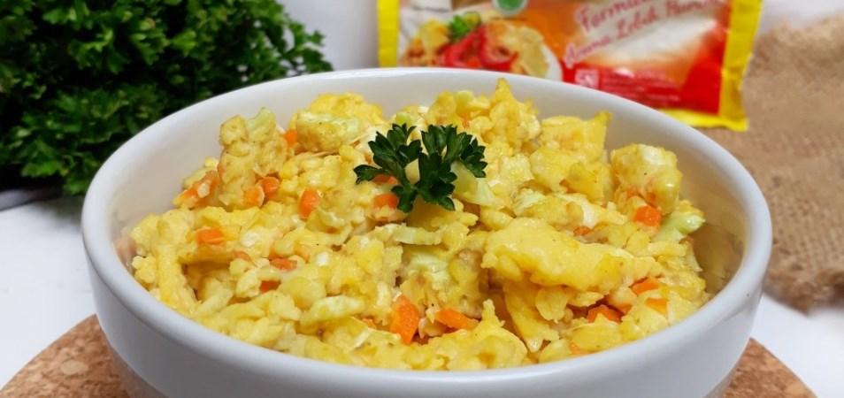Telur Orak Arik Sayur