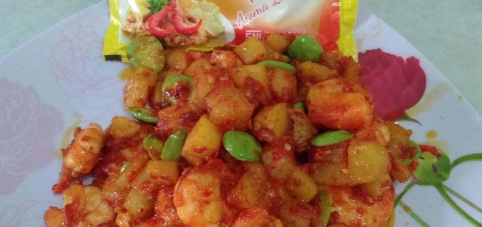 Sambal udang kentang petai spesial Palmia