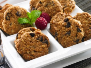BUTTER CHOCO OATMEAL COOKIES