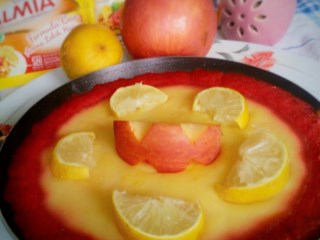 Red Velvet Lemon Tart