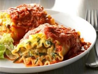Lasagna Rolls Up