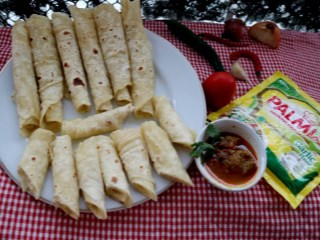 Roti Cane kari Palmia