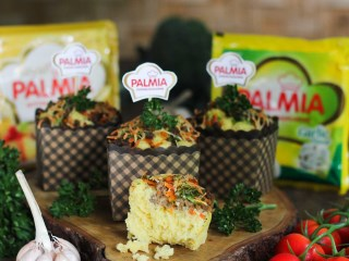 Vegie Garlic Cheese Muffin ala Palmia