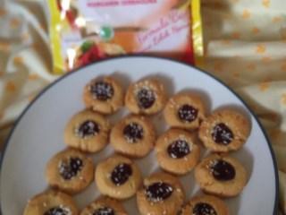 #YummyXPalmia Thumbprint Blueberry Cookies