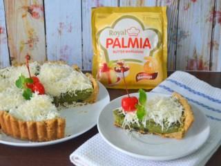 Pie Brownies Greentea Cheese