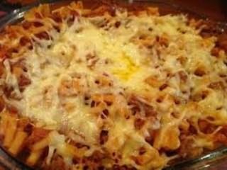 Baked Macaroni Bolognaise