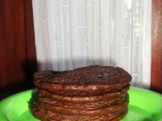 banana choco pancake