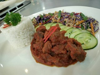 Balinese Rice with Vegetable Mix