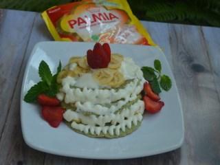 Pancake Pisang Krim