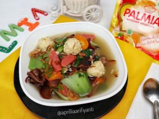 Sup Jamur Bakso Tahu