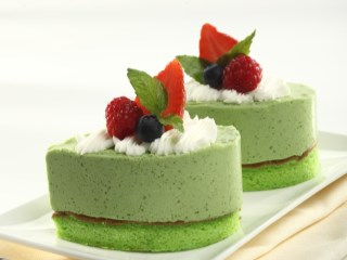 CHEESE GREENTEA CAKE