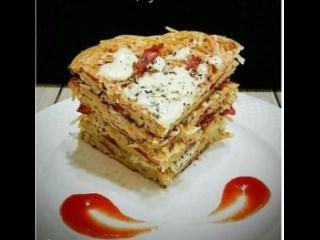 Martabak Spaghetti