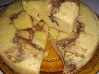 Kue Keju Coklat Simpel