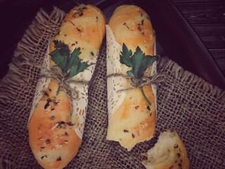 Cheese stick bread