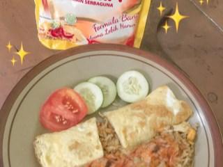 Nasi Goreng Omlet Udang