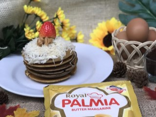 Pancake Peanut Butter Royal Palmia
